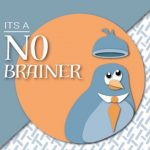Its a no brainer business conceptualeyes illustration birds brain