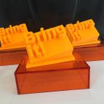 3dprinting bringit trophies for Internal Communication Employee Awards